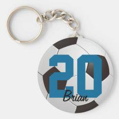 Soccer Ball Sports Keychain at Zazzle