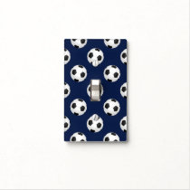 Soccer Ball Sports Light Switch Cover