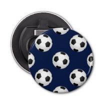 Soccer Ball Sports Pattern Bottle Opener