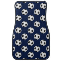 Soccer Ball Sports Pattern Car Floor Mat