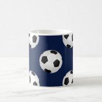 Soccer Ball Sports Pattern Coffee Mug