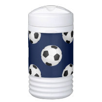 Soccer Ball Sports Pattern Cooler
