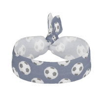 Soccer Ball Sports Pattern Hair Tie