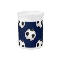 Soccer Ball Sports Pattern Pitcher