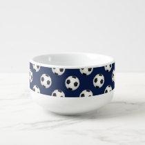 Soccer Ball Sports Pattern Soup Mug