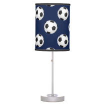 Soccer Ball Sports Pattern Table Lamp