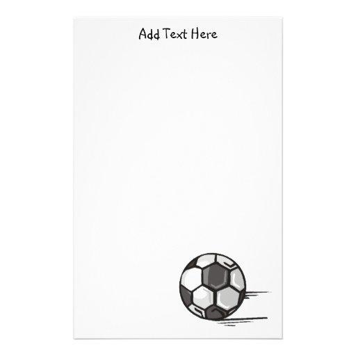 Soccer Ball Sports Stationery