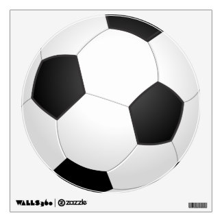 Soccer Ball Sports Wall Decal
