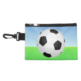 Soccer Ball Sunny Day Accessory Bags