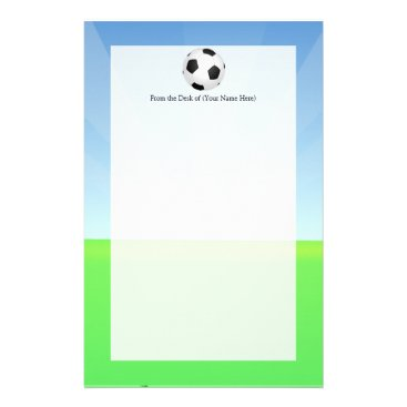 cutencomfy Soccer Ball Sunny Day Stationery