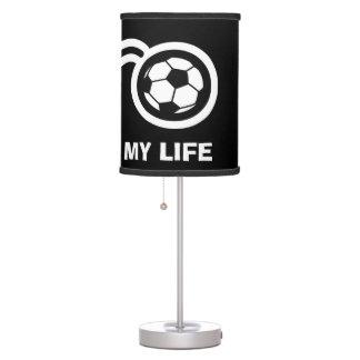Soccer ball table lamp design