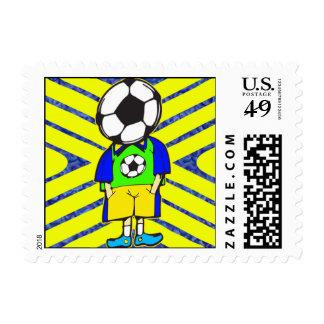 Soccer Ball Team Member Stamp