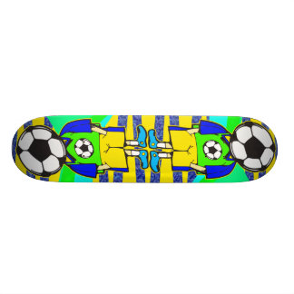 Soccer Ball Team Member Skateboard Deck
