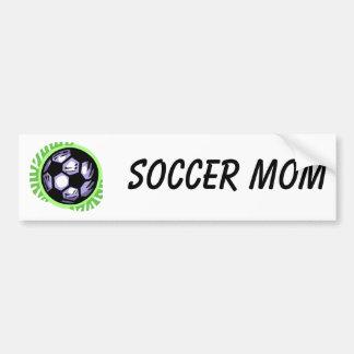 Soccer Ball Team Player Bumper Sticker