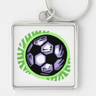 Soccer Ball Team Player Keychain