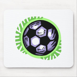 Soccer Ball Team Player Mouse Pad