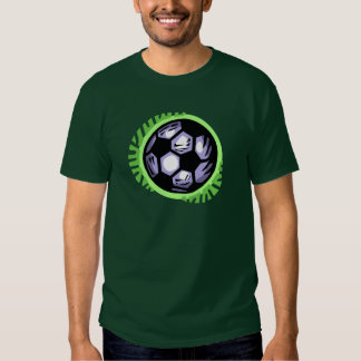 Soccer Ball Team Player T Shirt