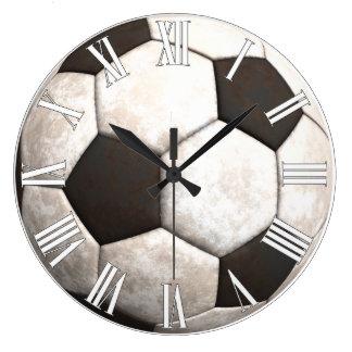 Soccer Ball Team Sports Games Wall Clocks