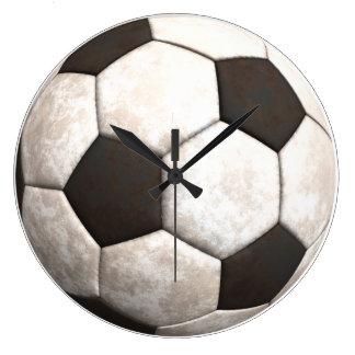 Soccer Ball Team Sports Games Wall Clock