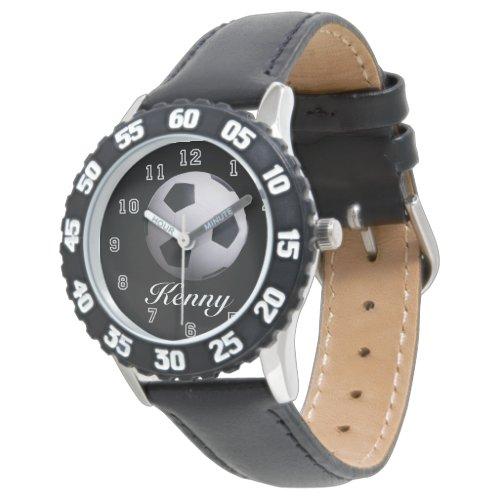 Soccer Ball Time Wrist Watch