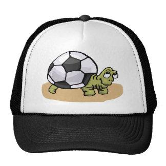 Soccer Ball Turtle Trucker Hat