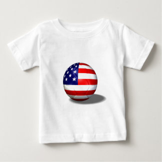 soccer ball usa infant t-shirt