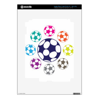 Soccer Ball Vector Skin For iPad 3