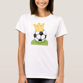 Soccer Ball Wearing Crown T-shirts and Gifts