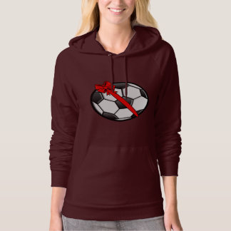 Soccer Ball with Bow Hoodie