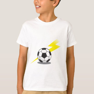 Soccer ball with lightning bolt T-Shirt