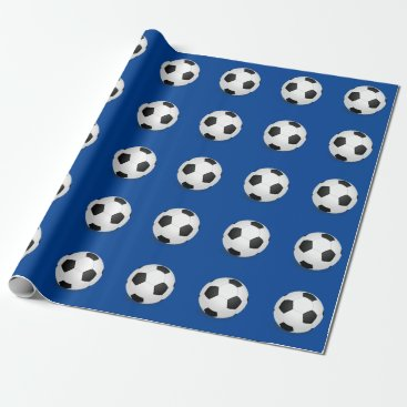 photographybydebbie Soccer Ball Wrapping Paper