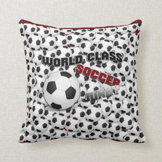 SOCCER BALLS American MoJo Pillow