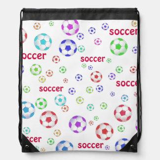 Soccer Balls Backpack Bag