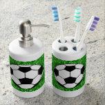 Soccer Balls Bath Set