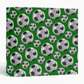 Soccer balls binder