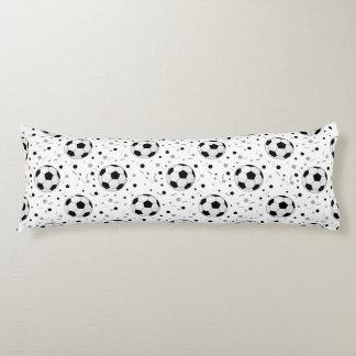 Soccer balls body pillow