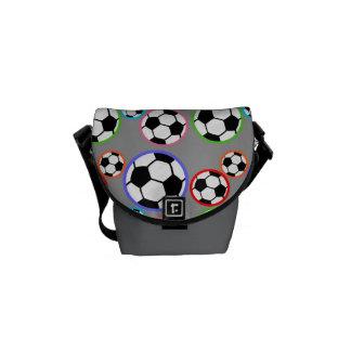 Soccer balls courier bag