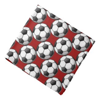 Soccer Balls Design Bandana