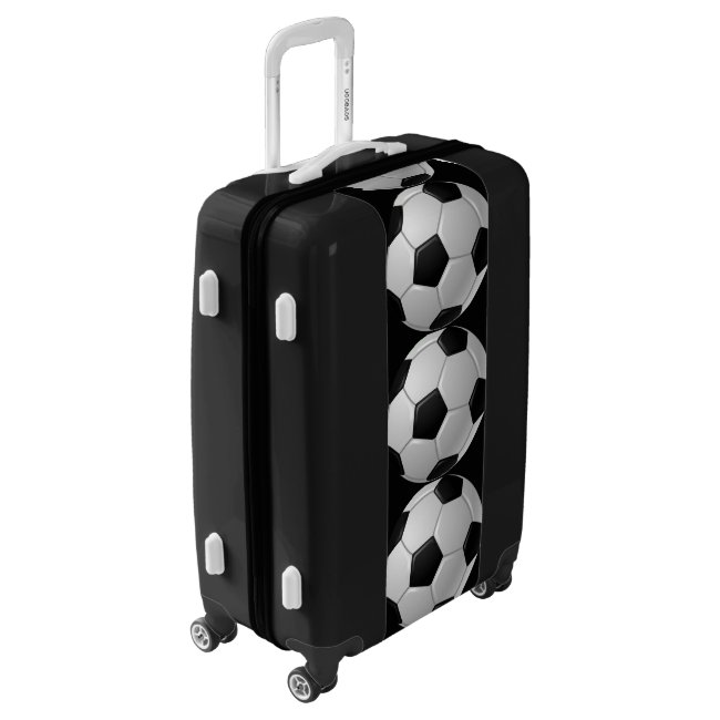 Soccer Balls Design Luggage