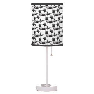 Soccer Balls Design Table Lamp Shade
