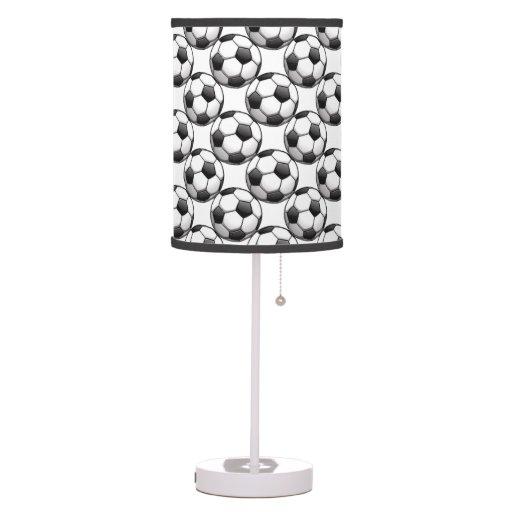 Soccer Balls Design Table Lamp Shade