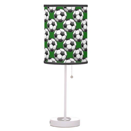 Soccer Ball Lamp Australia: Soccer Balls Design Table Lamp Shade