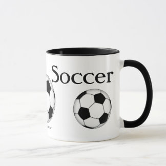 Soccer Balls Everywhere Mug