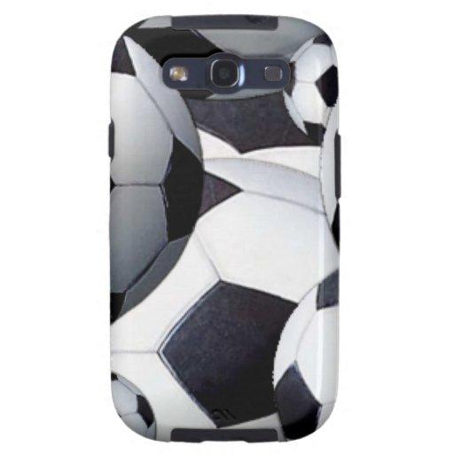 Soccer Balls Galaxy S3 Case