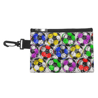SOCCER BALLS IN CHAOTIC COLOR ACCESSORIES BAGS