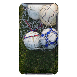 Soccer balls in net barely there iPod cover