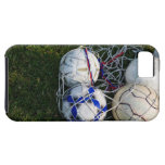 Soccer balls in net iPhone SE/5/5s case