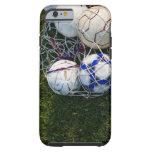 Soccer balls in net tough iPhone 6 case