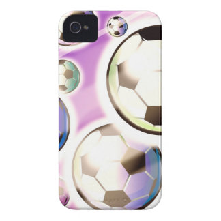 Soccer Balls in the Air iPhone 4 Case