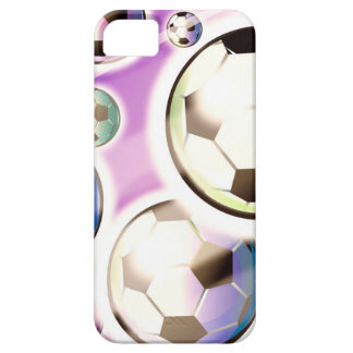 Soccer Balls in the Air iPhone 5 Case